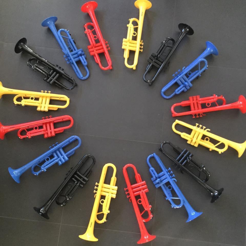 Kunststof trompetten